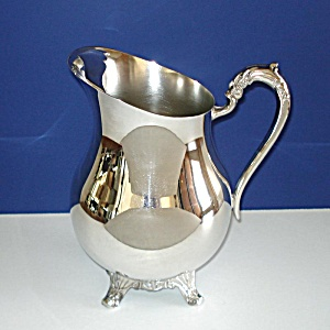 Fb Rogers Silverplate Water Pitcher