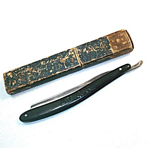 Antique German Ern Ator Cut Throat Straight Razor