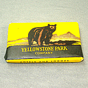 Yellowstone Park Company Bar Of Ivory Soap Unopened Souvenir