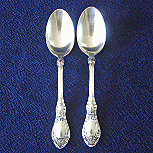 Sharon 1910 Silverplate Teaspoon, 1847 Rogers Bros