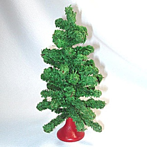 1930s Small Tabletop Artificial Christmas Tree (Image1)