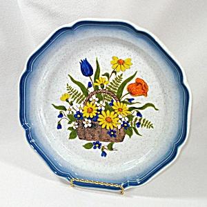Mikasa Garden Treasures Dinner Plate, 10 Available