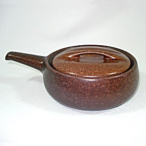 Roseville Raymor Autumn Brown Individual French Skillet
