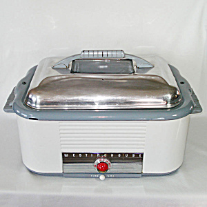 1950s Westinghouse Roaster Oven With Rack