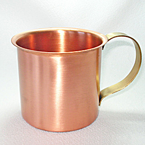 Solid Copper Mug 14 Ounces