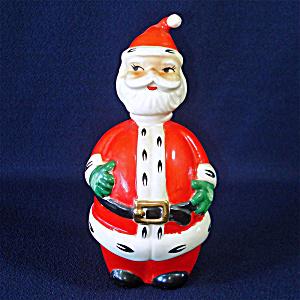 Lefton Christmas Santa Claus Decanter (Image1)