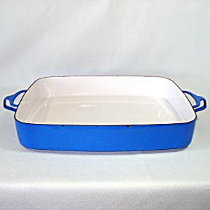 Dansk Blue Kobenstyle Enamel Extra Large Baking Pan (Image1)