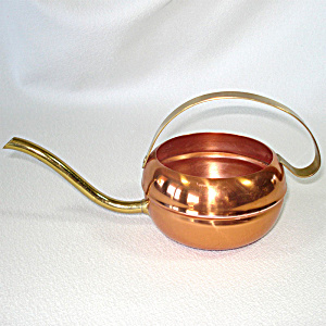 1950s Coppercraft Guild Solid Watering Can