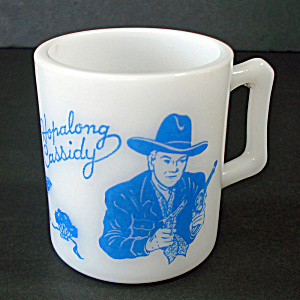 Hazel Atlas Hopalong Cassidy Child's Mug (Image1)