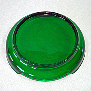 Anchor Hocking Forest Green Punch Bowl Base (Image1)