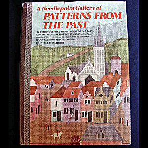 Needlepoint Gallery Of Patterns From The Past, Phyllis Kluger