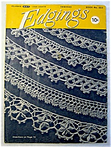 Coats And Clarks Edgings 1949 Crochet Pattern Booklet