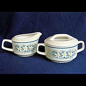 Lenox Dewdrops Creamer and Covered Sugar Set (Image1)