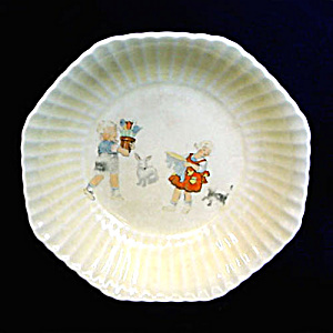 1920s Child's Antique Wheaties Cereal Bowl (Image1)