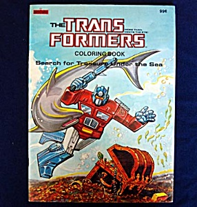Transformers 1984 Coloring Book