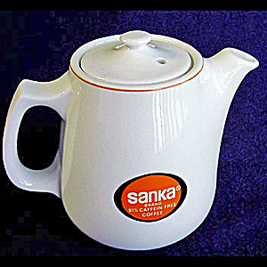 Restaurant Sanka Instant Coffee Pot By Hall China (Image1)