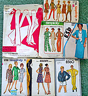 Collecting vintage sewing patterns - a guide from the Sewing Palette