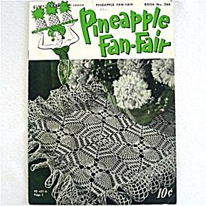 Pineapple Fan-Fair Crochet Pattern Instruction Booklet (Image1)