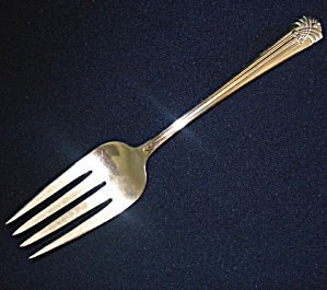 International Silver 1938 Vogue Silverplate Cold Meat Fork (Image1)