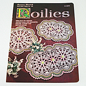 1956 Star Doilies Crochet Pattern Instruction Booklet