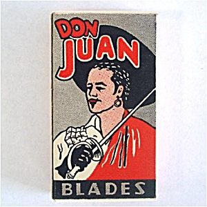 Box Don Juan Razor Blades Mint Unused