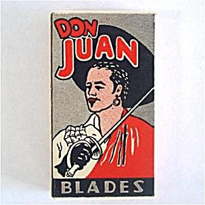 Box Don Juan Razor Blades Mint Unused (Image1)