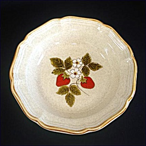 Mikasa Strawberry Festival Rimmed Soup Bowl, 3 Available (Image1)