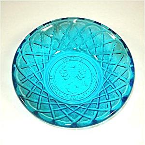 Indiana Blue Pretzel Scorpio Zodiac Bowl (Image1)