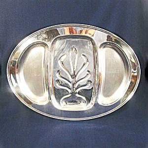 Massive Oneida Silverplate Meat Platter (Image1)
