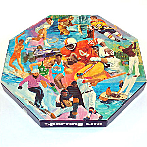 Sporting Life 1973 Springbok Octagonal Jigsaw Puzzle