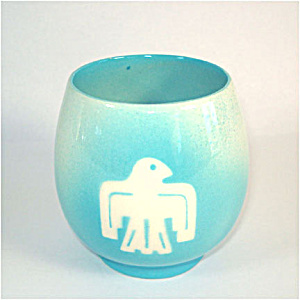 Thunderbird Tourist Pottery Cup or Tumbler (Image1)