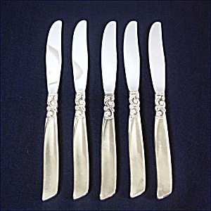 South Seas Oneida Silverplate Dinner Knife, 3 Available (Image1)