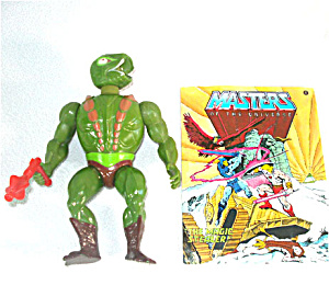 Kobra Khan 1984 He-Man Masters of the Universe Action Figure (Image1)