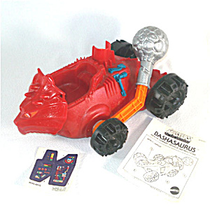Bashasaurus 1985 He-Man Masters of the Universe Toy Vehicle Complete (Image1)