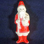 Click to view larger image of Irwin Celluloid Santa Claus Christmas Figure (Image1)