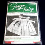 Christmas Santa Apron 1950s Paragon Needlecraft Kit