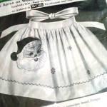 Click to view larger image of Christmas Santa Apron 1950s Paragon Needlecraft Kit (Image2)
