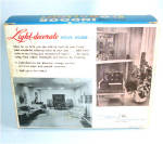 Click to view larger image of Penetray Red Christmas Floodlight With Fixture in Original Box (Image4)