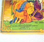 Click to view larger image of 1933 Manger Scene Christmas Nativity Punch Out Book (Image2)