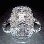 Click to view larger image of EAPG Child's Glass Sugar Bowl (Image2)