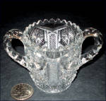 Click to view larger image of EAPG Child's Glass Sugar Bowl (Image4)