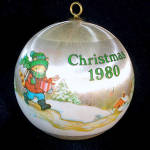 Click to view larger image of Hallmark 1980 Teacher Christmas Ornament (Image3)