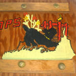 Click to view larger image of Scotty Dog Painted Wood Photo Album (Image2)