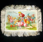 Click to view larger image of Victorian Fringed Birthday Card and Celluloid Bookmark (Image3)