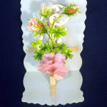Click to view larger image of Pop Up Tissue Rose Victorian Valentine (Image2)