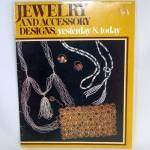 Click here to enlarge image and see more about item 10653: Jewelry Accessory Designs 1971 Beading Craft Pattern Booklet