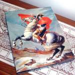 Click here to enlarge image and see more about item 10711: Crossing of Mt. Saint-Bernard Springbok 1972 Fine Art Jigsaw Puzzle