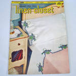 Click here to enlarge image and see more about item 10741-4: Crochet For Your Linen Closet 1951 Pattern Instruction Booklet