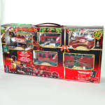 Click here to enlarge image and see more about item 10770-3: North Pole Express Christmas Train Set