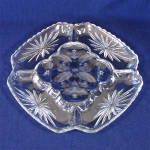Click here to enlarge image and see more about item 10846: Early American Prescut Deviled Egg Plate